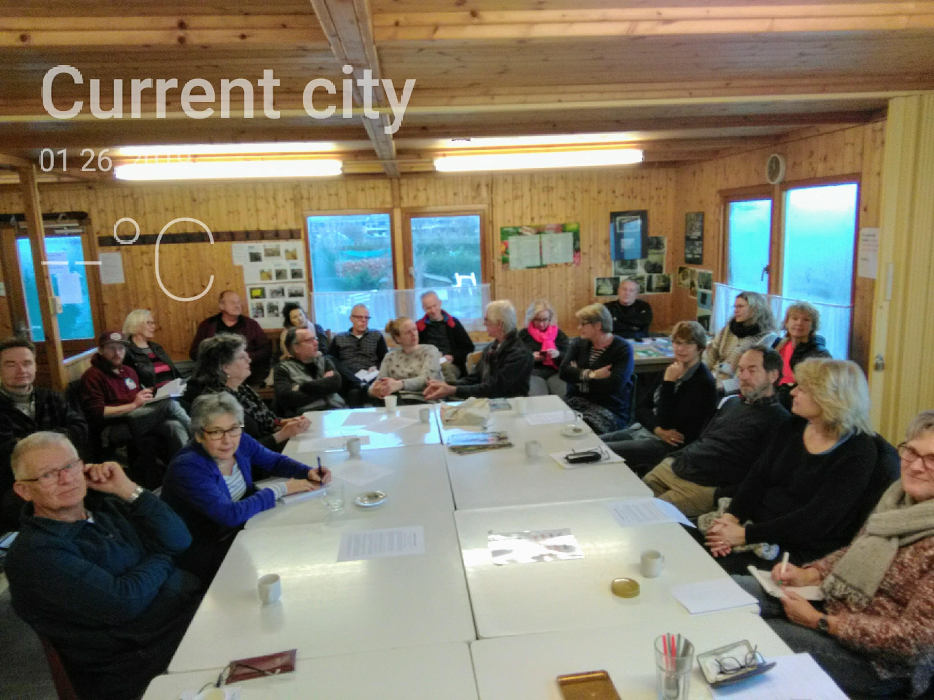 Tuinbijeenkomst 26 januari 2019